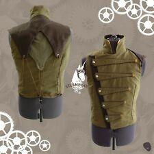 Steampunk jacket waistcoat military cosplay  tg 52 man