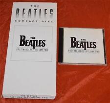 THE BEATLES Past Masters Volume Two Rare Original US CD Longbox & CD!