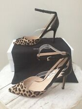 DESIGNER PAUL SMITH NAOMI PONY CALF LEOPARD PRINT STILETTOS SZ 38 BNWB RRP £250