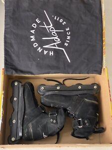 Adapt Brutale Handmade Carbon Skates on Plastic Flat 60 UK8 Mondo 275
