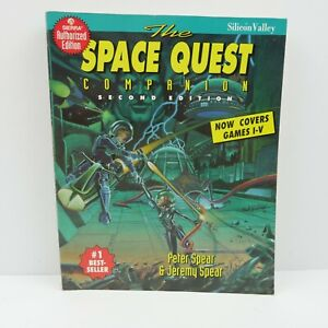 1993 The Space Quest Companion Second Edition Game Book Peter Jeremy Spear
