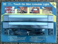 MEGABRITE TOUCH ON SLIM LINKABLE LIGHT BRUSHED NICKEL NEW IN PACKAGE