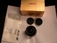 Sigma Zoom Master 35-70 mm f/3.5-4.5 Multi-Coated for Pentax Mount Made in Japan