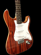 NEW EXOTIC ROSEWOOD  STRAT SYTLE 12 STRING ELECTRIC GUITAR