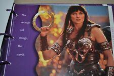 Xena Warrior Princess Activity Folder
