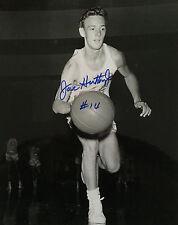 JOE HUTTON JR. NBA MPLS. LAKERS ORIG. AUTO. 8X10  W/ COA (RARE)