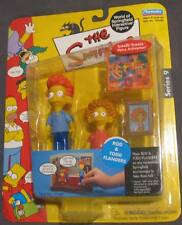Rod & Todd - The Simpsons Series 9 Playmates WOS Action Figure 2002