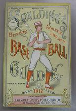 1917 Spalding's Official Baseball Guide