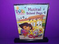 Dora the Explorer - Musical School Days (DVD, 2007) Brand New B465