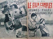 """LE FILM COMPLET 1934  N 1470 """" JEUNES FILLES D' AUJOURD'HUI"""" avec LILY RODIEN"""