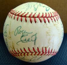 1992-93 San Francisco Giants Team Signed Baseball 33 Signatures Will Clark