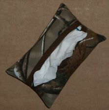 Tissue Packet Camo Camouflage RealTree® Pocket Holder Fabric Cover Handmade