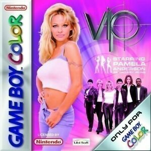 Nintendo GameBoy Color game - VIP Starring Pamela Anderson cartridge