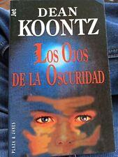 Los ojos de la oscuridad - Dean R. Koontz  LIBRO DE BOLSILLO P&J