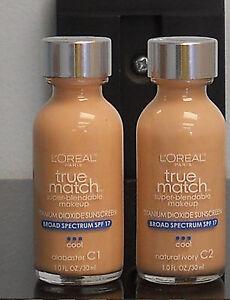 L'Oreal True Match Super Blendable Makeup  (Choose Your Color)  (New)