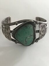 Vintage American Indian Green Turquoise Bracelet Jewelry