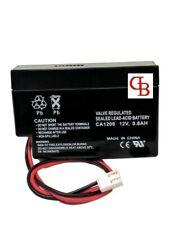 Batterie au plomb étanche 12V 0.8AH :96x25x62mm OEM
