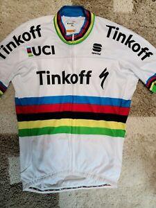 Peter Sagan Tinkoff World Champion's Jersey, XL