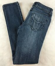 Miley Cyrus Max Azria Women's Jeans Size 3 Distressed Destroyed Skinny Stretch