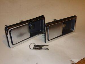 DOOR HANDLES LOCK KEY LOTUS ECLAT ESPRIT ELITE ESSEX TURBO S1 S2 S3 75 76 83 84