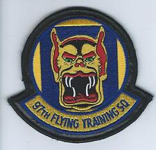 97th FLYING TRAINING SQUADRON(on leather)  patch