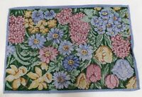 Set of 4 Tapestry Table Placemats in Multi-Color - Floral Print