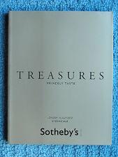 "SOTHEBY'S LONDON ""TREASURES / PRINCELY TASTE"", 4 JULY 2012"
