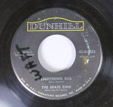 Rock Nm! 45 The Brass Ring - Lightening Bug / The Phoenix Love Theme (Senza Fine
