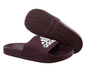 Adidas Adilette Shower Mens Shoes Size 10, Color: Burgundy/White