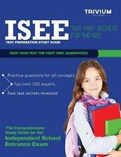 ISEE Test Preparation Study Guide : Test Prep Secrets for the ISEE by Trivium...