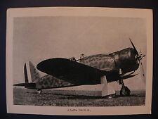 Aviazione Regia Aereonautica aereo Fiat G 50 Freccia fighting plane II guerra