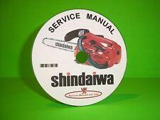 Shindaiwa Chainsaw Factory Service Manual Models 300-757(see listed models)