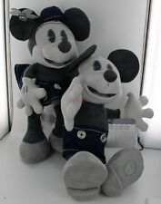 D23 Limited Edition Mickey & Minnie Mouse Plush - Disney Store 25th Anniversary