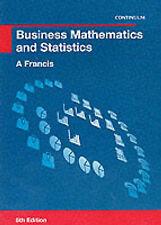 Business Mathematics and Statistics-ExLibrary