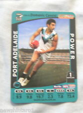 2012  PORT ADELAIDE POWER  WEETBIX AFL CAPTAIN CARD - DOMENIC CASSISI