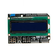 16 x 2 LCD 1602 Keypad Shield LCD Display 1602 Module  For Arduino LCD Shield UN