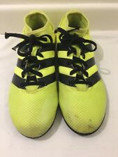 Adidas Astro Turf Football Trainers Solar Yellow Colour Size UK 5