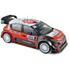Norev Citroën C3 WRC 2017 1:18 #9 Lefebvre / Moreau Tour de Corse