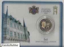 Luxemburg   2004 2 € Commemorative  MONOGRAM / COINCARD