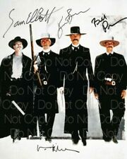 Tombstone signed 8X10 inch photo picture poster wall art autograph RP