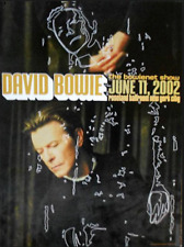 OFFICIAL REX RAY COLLECTION STORE - Rex Ray - DAVID BOWIE ROSELAND 2002 POSTER