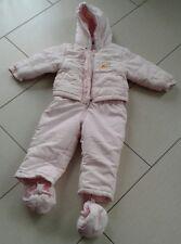 Schneeanzug für Mädchen Gr 86 rosa Winnie Pooh