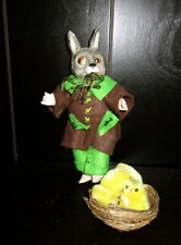 Antique bisque Anthropomorphic Easter Rabbit -Bunny - Germany