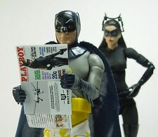 1/12 Scale Custom Catwoman Playboy for Batman 6 inch - includes interior pages