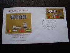 REPUBLIQUE CENTRAFRICAINE - enveloppe 1er jour 8/12/1974 (B4)
