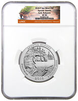 2018-P Apostle Islands 5 oz. Silver ATB Specimen Coin NGC SP70 ER SKU51764