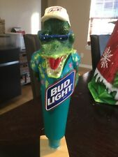 Bud Light Beer Alligator Tap Handle - Never Used - Anheuser Busch