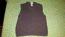 Janie and Jack size 5 boys charcoal grey argyle sweater vest - 100% cotton