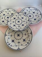 FURNIVALS Denmark 4 Soup Bowls 1 Dessert Plate Made in England VGUC