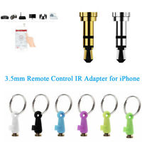 3.5mm IR Adapter Infrared Plug Smart Electronics Remote Control For iPhone